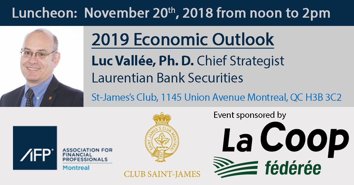 Luncheon - 2019 economic outlook
