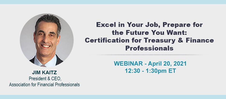 Webinar - Excel in Your Job, Prepare for the Future You Want