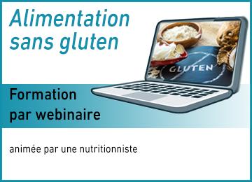 Formation Alimentation sans gluten