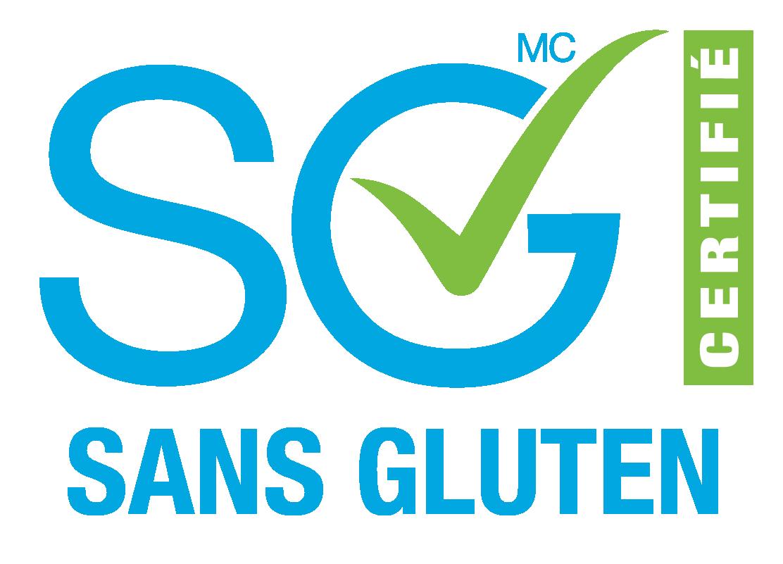 SG Certifié sans gluten
