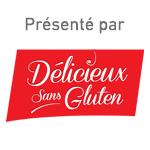 Présenté par Délicieux sans gluten
