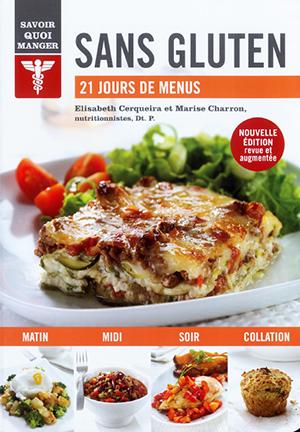Livre de recettes : Sans gluten - 21 jours de menus