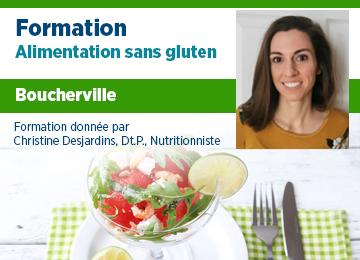 Formation - Alimentation SG à Boucherville