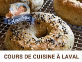 Cours de cuisine sans gluten, sans produits laitiers à Laval