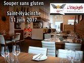 Souper sans gluten à Saint-Hyacinthe