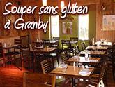 Souper sans gluten à Granby