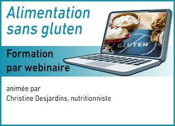 Webinaire - Formation - Alimentation SG