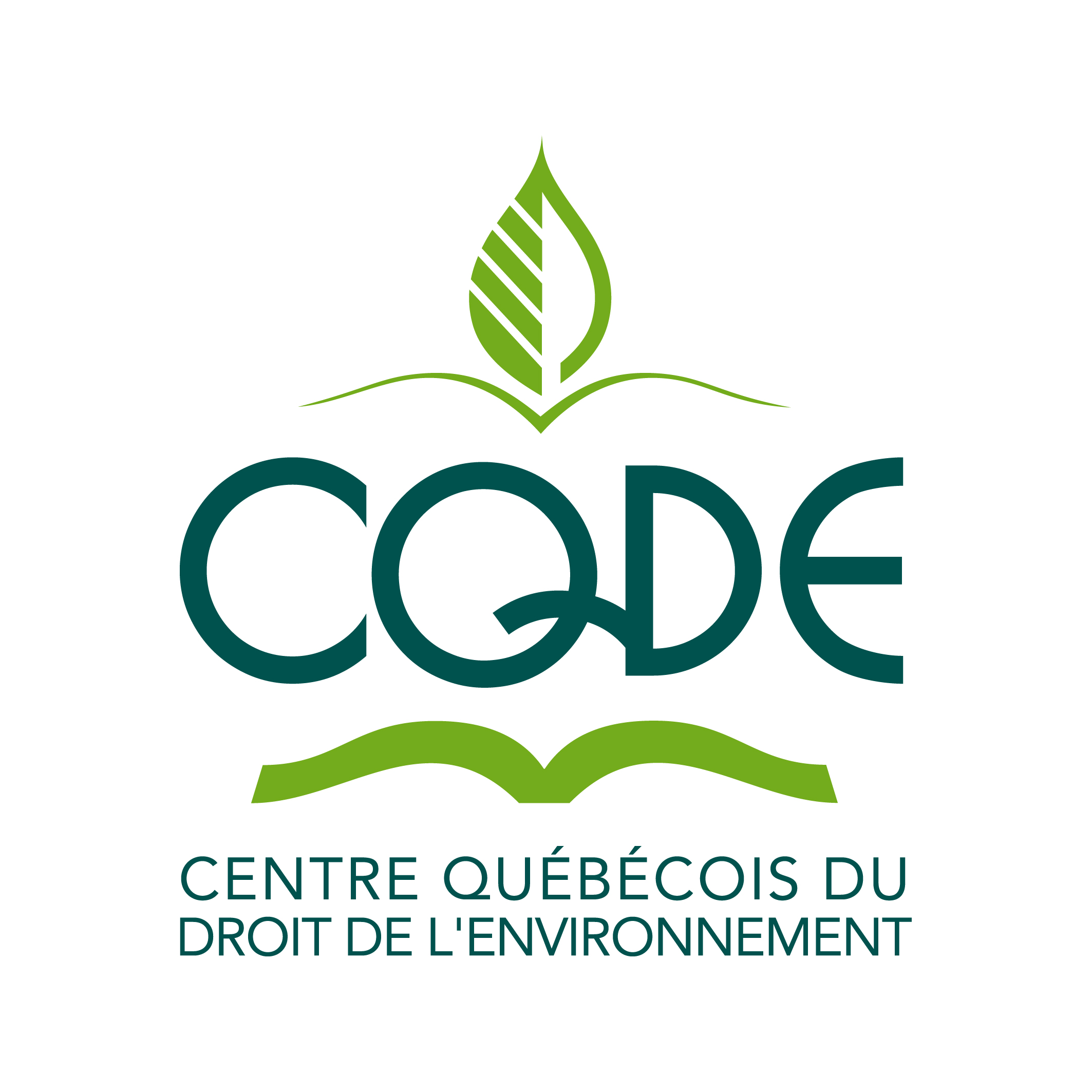 Logo Centre québécois du droit de l'environnement