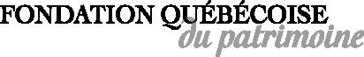 Logo Fondation québécoise du patrimoine