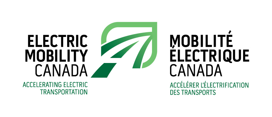 Logo Electric Mobility Canada / Mobilité électrique Canada